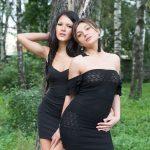 Проститутка Саша и Люда